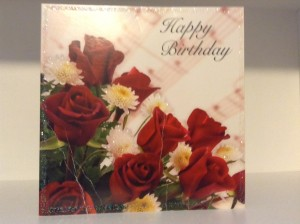 Birthday Card from Mary