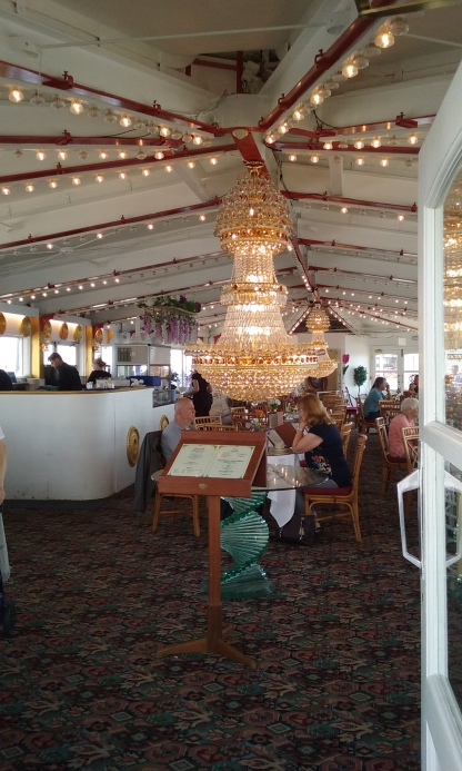 Cafe on the pier